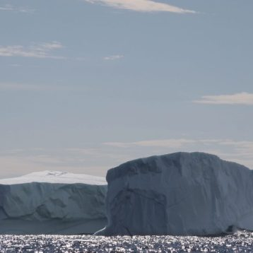 Icebergs can be several stories high. Photographed June 3, 2016, while on a boat tour operated by Prime Berth's Captain Dave. Credit: Therese Kehler