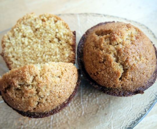 Cornmeal muffins with chipotle