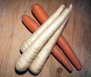 Parsnips and carrots: same but different?