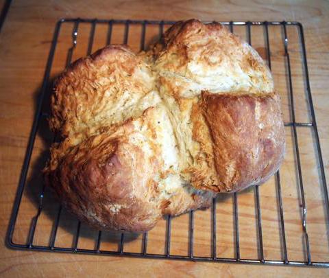 Caraway seed soda bread