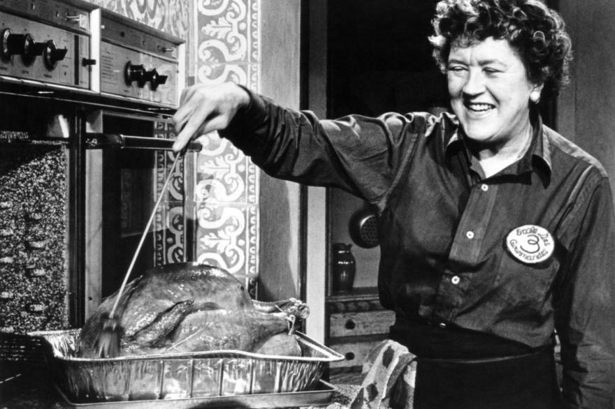 THE FRENCH CHEF, Julia Child, 1962-73. photo: Paul Child