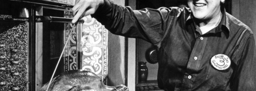 THE FRENCH CHEF, Julia Child, 1962-73. photo: Paul Child