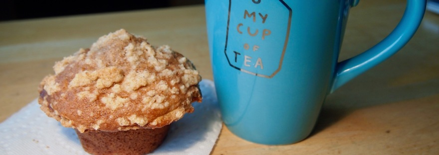 Streusel-Topped Apple Muffins are definitely my cup of tea!