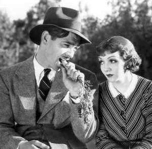 Clark Gable and Claudette Colbert in the 1934 classic It Happened One Night. Photo: sundaymovies.net