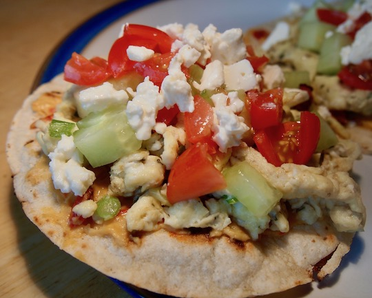 Day 75: A Mexiterranean tostada? It's all Greek to me – Road