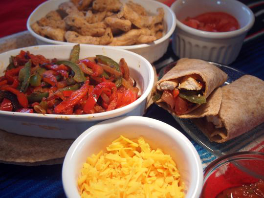 Sauteed imperfect peppers are the perfect addition to chicken or beef fajitas.