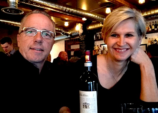 A celebratory dinner at Chartier in Beaumont.