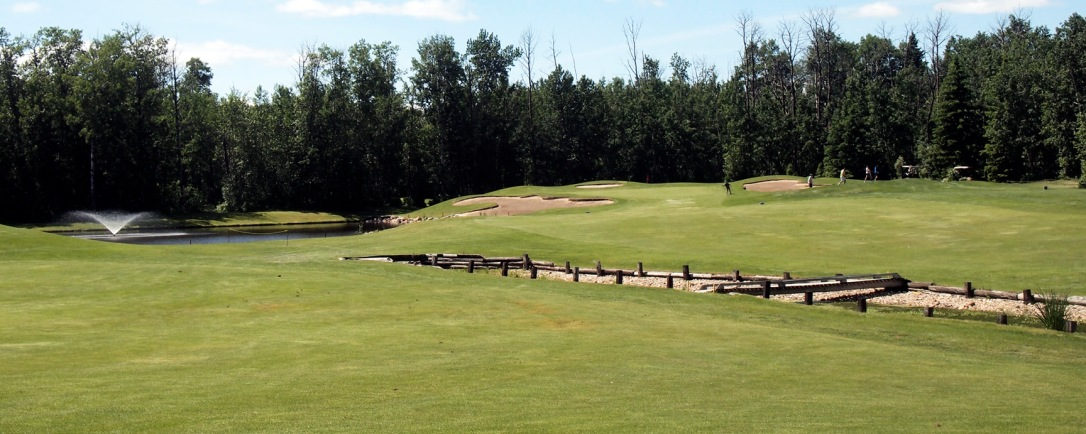 Barrhead Golf Course's signature hole is number 4.