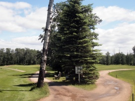 Holes 3 and 12 at Barrhead Golf Course are like a mirror image of each other.