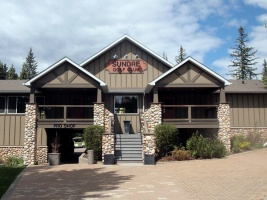 Pro-shop, restaurant and banquet space at the Sundre Golf Club.