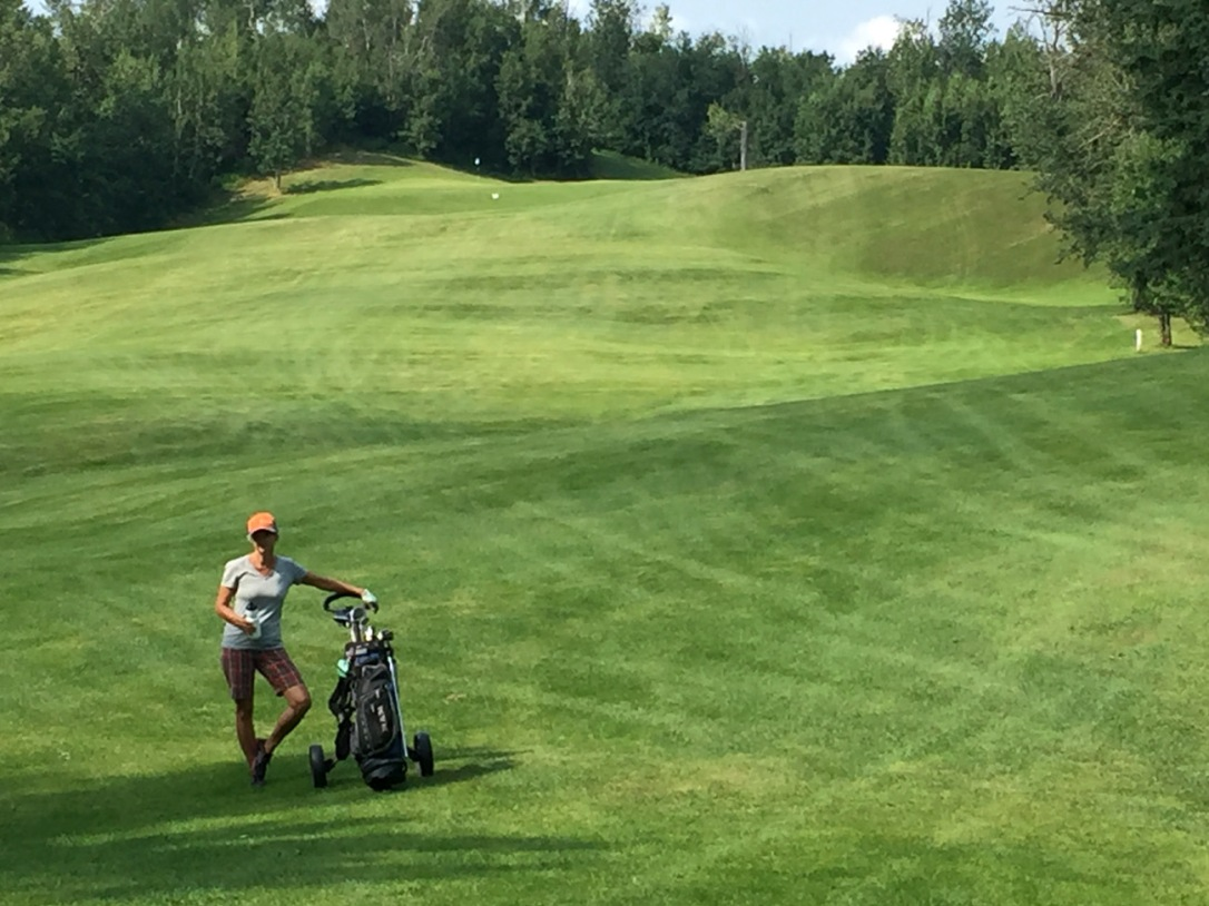 Fairways are wide, long and rolling at Elk Island Golf Course.