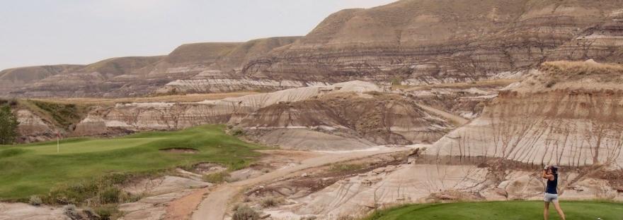 Dinosaur Trail Golf Course, Drumheller