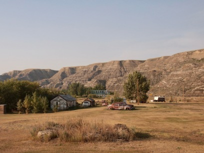 Some of the scenery along the 11 Bridges Road, en route to the Last Chance Saloon in Wayne, Alberta.